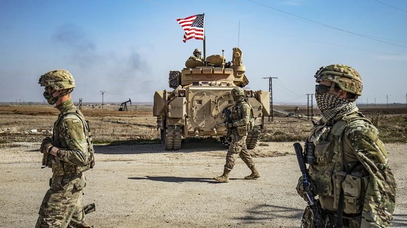 «Грубейшее нарушение международного права»: США нанесли удар по расположенным в Сирии объектам