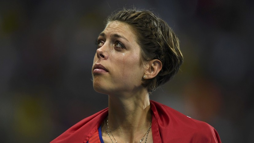 Влашич рассказала, почему не смогла побить мировой рекорд в прыжках в высоту