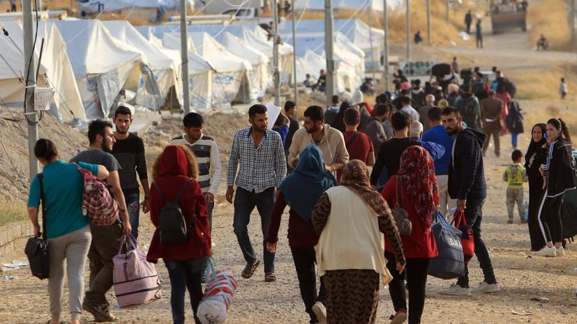 ЦПВС: США продолжают удерживать беженцев в сирийском лагере «Эр-Рукбан»