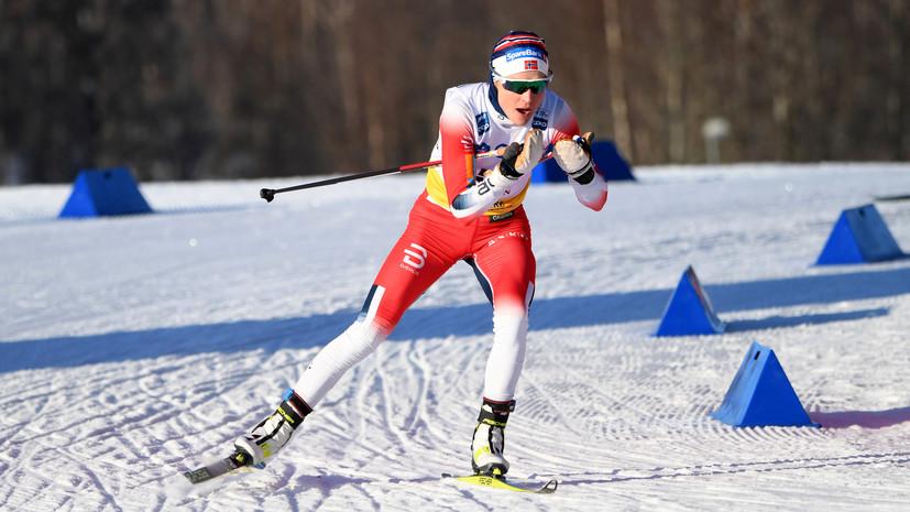 Йохауг одержала победу в скиатлоне на ЧМ в Оберстдорфе, Сорина — восьмая