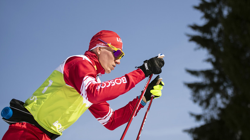 В борьбе с пятью норвежцами: Большунов завоевал золото в скиатлоне на ЧМ в Оберстдорфе