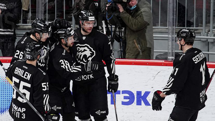 Трактор обыграл Металлург в овертайме матча КХЛ