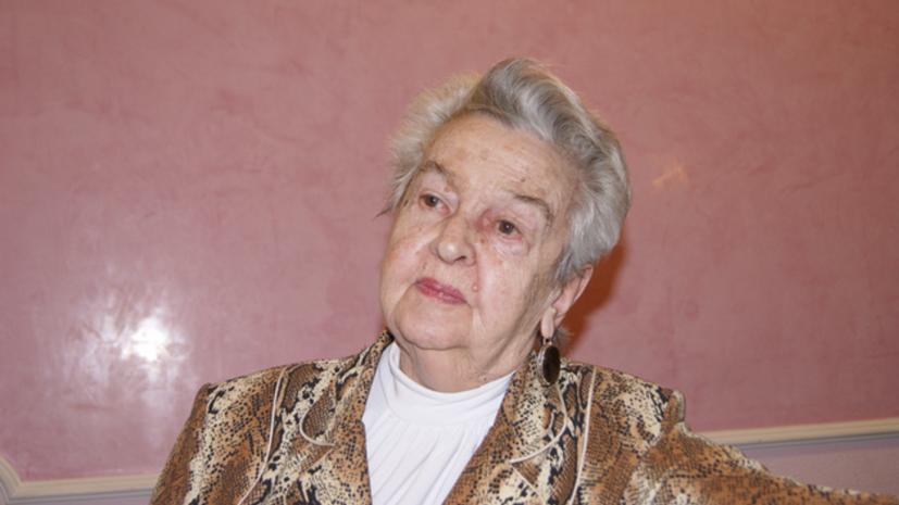 Народная артистка РСФСР Людмила Лядова госпитализирована с COVID-19