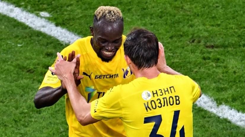 Дубль Соу, удаление Осипенко и травма Кержакова: «Ростов» забил на 89-й минуте и вырвал ничью в матче с «Зенитом»