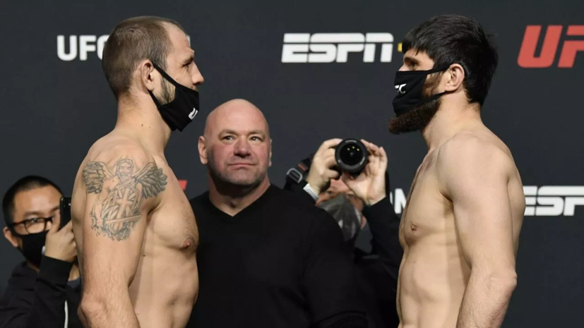 Анкалаев прокомментировал победу над Крыловым на турнире UFC Fight Night 186