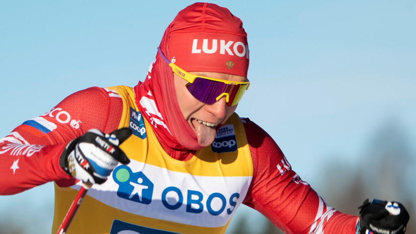 Норвежская лыжница болела за Большунова в скиатлоне на ЧМ в Оберстдорфе