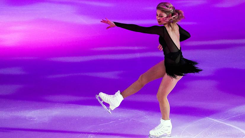 Плющенко сообщил, что Косторная готова выступить в произвольной программе в финале КР