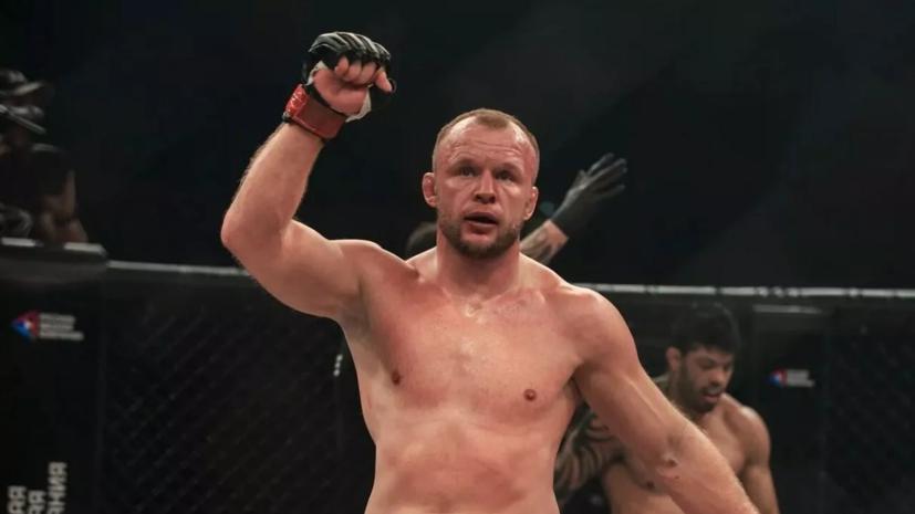 Шлеменко отреагировал на поражение Гришина на UFC Fight Night 186