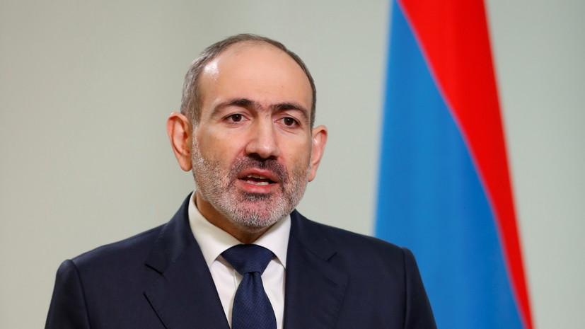 Пашинян назвал непонятным решение Саркисяна не увольнять главу Генштаба