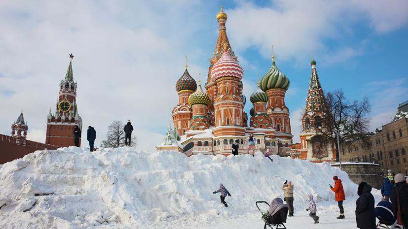 Синоптик высказался о прошедшей зиме в Москве