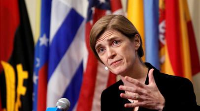 Байден внёс в сенат кандидатуру Саманты Пауэр на пост главы USAID