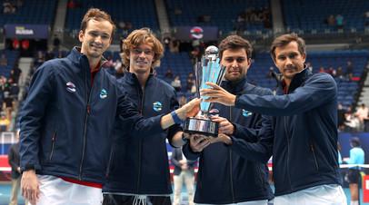 Камельзон о победе россиян на ATP Cup: мы ещё и не все силы использовали