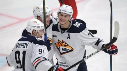 Йокерит прервал десятиматчевую победную серию Металлурга в КХЛ