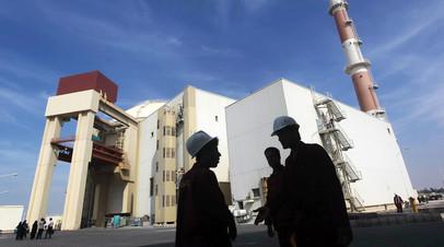 Ядерный объект Ирана вблизи Бушера