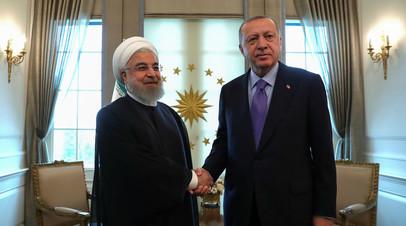 Президенты Ирана и Турции провели телефонные переговоры