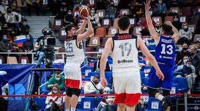 Сборная России победила Эстонию в отборе на Евробаскет-2022