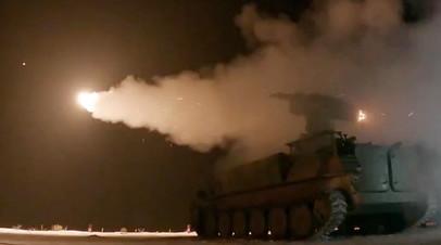 Испытания зенитной управляемой ракеты 9М333 для зенитного ракетного комплекса «Стрела-10М»