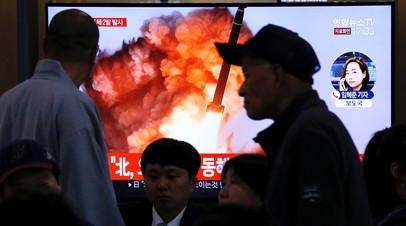 Представители Южной Кореи и США обсудили КНДР