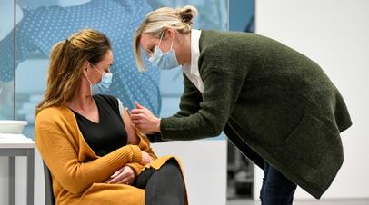 В Нидерландах более 1 млн человек получили прививку от коронавируса