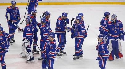 СКА нанёс «Витязю» пятое поражение подряд в КХЛ