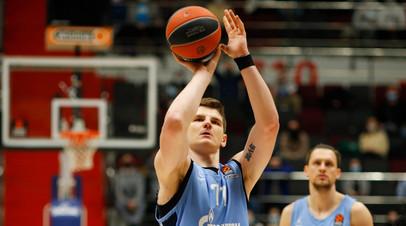 «Зенит» крупно проиграл «Валенсии» в баскетбольной Евролиге