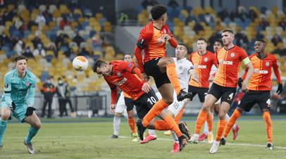 «Шахтёр» обыграл «Маккаби» и вышел в 1/8 финала Лиги Европы