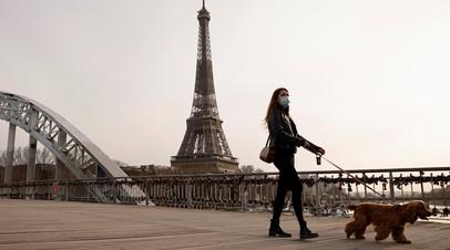Во Франции за сутки выявили более 25 тысяч случаев коронавируса
