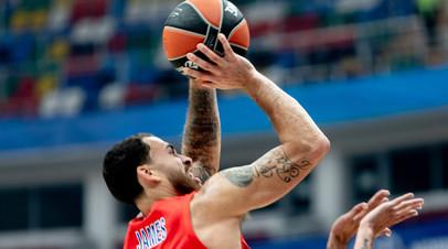 ЦСКА вырвал победу в матче баскетбольной Евролиги с «Олимпиакосом»