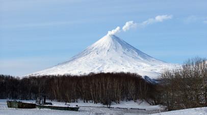 Лавовый поток вулкана Ключевского увеличился до 1,2 км