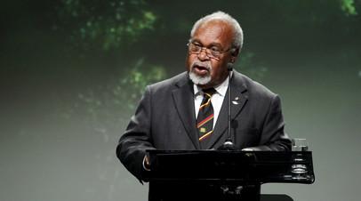 Умер первый глава правительства Папуа  Новой Гвинеи