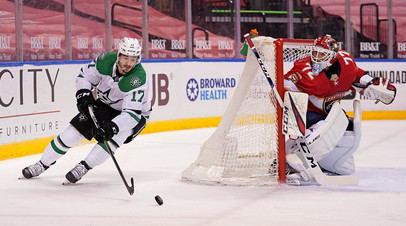 37 сейвов Бобровского помогли «Флориде» победить «Даллас» в матче НХЛ