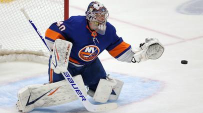 34 сейва Варламова помогли «Айлендерс» разгромить «Бостон» в матче НХЛ
