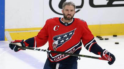 Овечкин вышел на 100-е место по результативным передачам в НХЛ