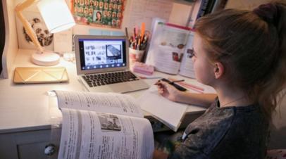 Онищенко оценил качество дистанционного обучения школьников