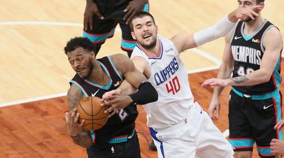 «Мемфис» победил «Клипперс» в матче НБА