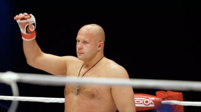 Фёдор Емельяненко вернулся к тренировкам