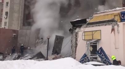 Последствия взрыва газа в жилом доме в Нижнем Новгороде — видео