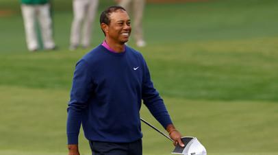 Стало известно о состоянии попавшего в аварию гольфиста Вудса