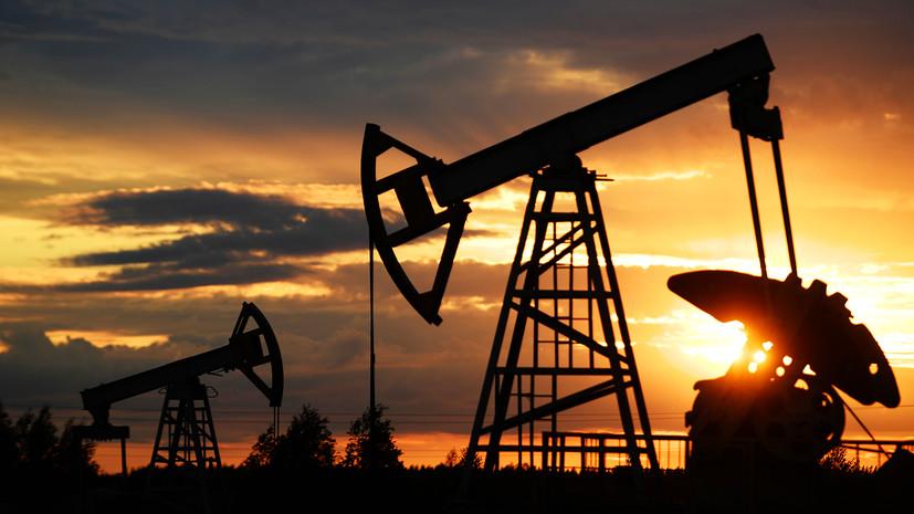 Цена на нефть марки Brent упала ниже $64