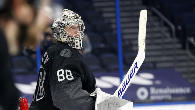 Василевский признан главной звездой недели в НХЛ