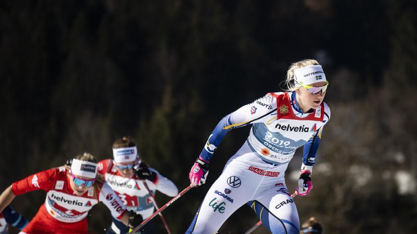 Шведке Дальквист запретили целоваться с американским лыжником до концаЧМ