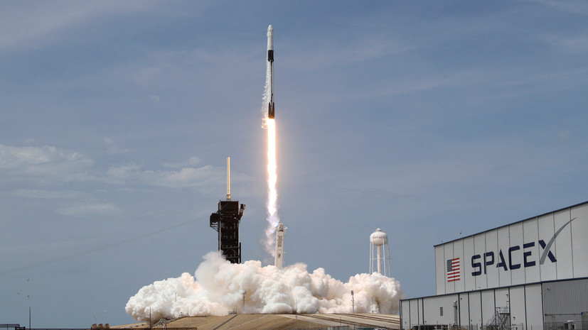 SpaceX отложила запуск ракеты-носителя со спутниками Starlink