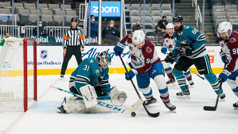 «Сан-Хосе» Кныжова разгромил «Колорадо» Ничушкина в матче НХЛ