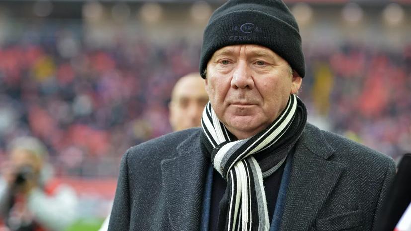 В «Спартаке» рассказали о состоянии Олега Романцева после госпитализации