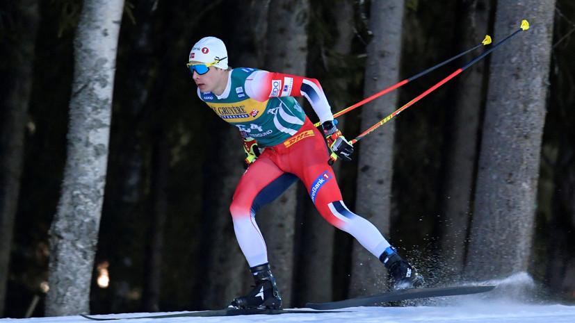 Стал известен состав сборной Норвегии на мужскую индивидуальную гонку на ЧМ
