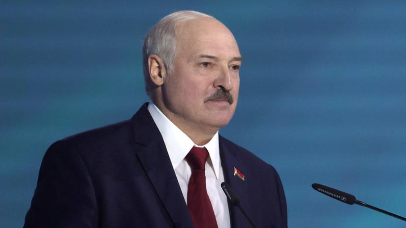 Лукашенко рассказал детали переговоров с Путиным в Сочи
