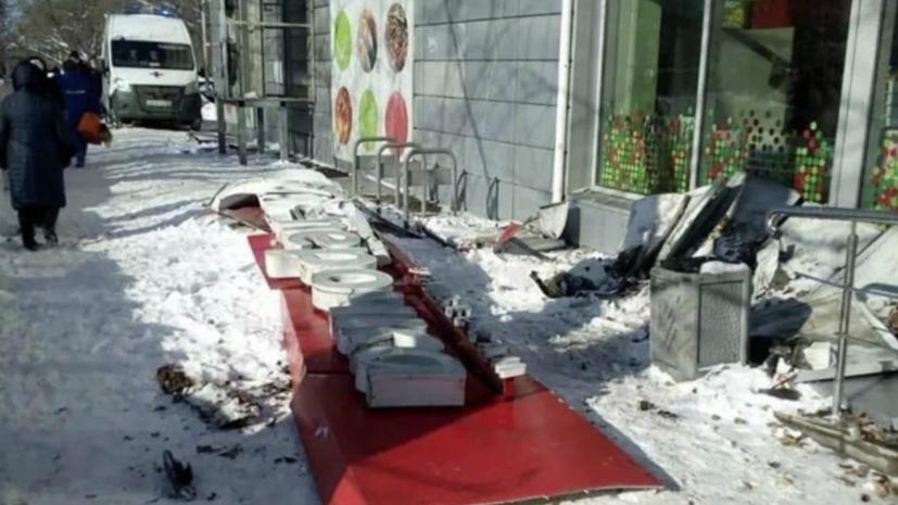 В нижегородском магазине прокомментировали падение вывески, в результате которого погибла пенсионерка