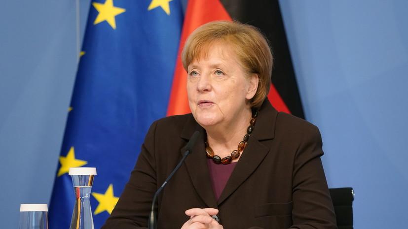 Меркель поздравила Горбачёва с 90-летним юбилеем