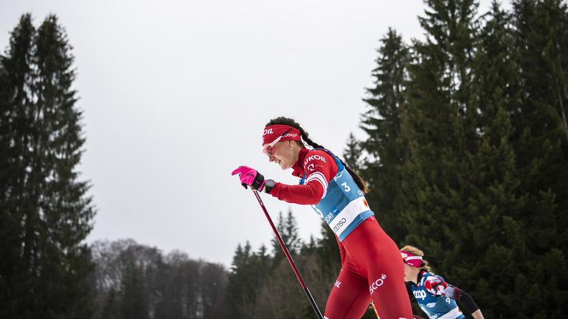 В семи секундах от подиума: Сорина финишировала пятой в индивидуальной гонке на 10 км свободным стилем на ЧМ