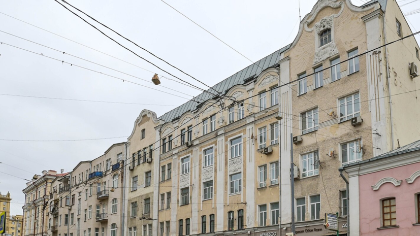 В Москве отремонтируют бывший дом персидского торговца